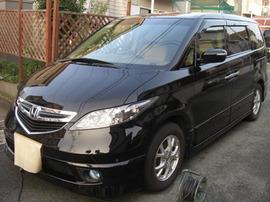 エリシオン(ダメージ小、軽い洗車傷程度) 画像