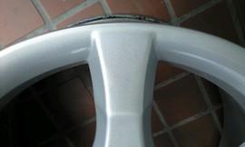 シルバー(一般的なシルバー色のホイール) -ベンツC200- 画像